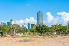 Tel Aviv's Business District Stock Photography
