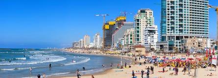Tel Aviv`s coastline Stock Images
