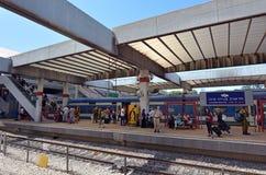 Tel Aviv Savidor centrali stacja kolejowa Zdjęcie Royalty Free