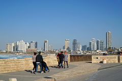 TEL AVIV -  The seafront promenade Royalty Free Stock Photos