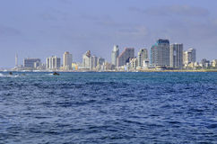 Tel Aviv seashore. Stock Photography