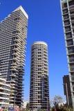 TEL AVIV - 28. SEPTEMBER:  Tel Aviv am 28. September 2013 in Israel, Telefon Aviv- eins von der Stadt in t schnell sich entwickeln Lizenzfreie Stockfotos