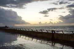 Tel-Aviv shore Stock Image