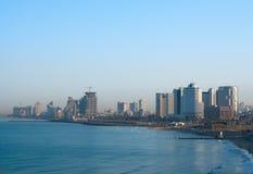Tel Aviv sjösida Arkivfoto