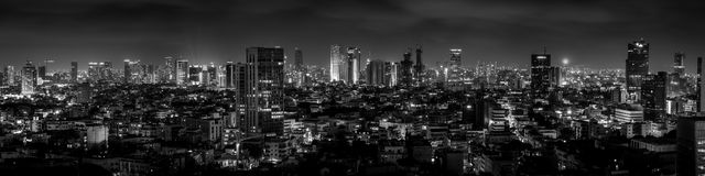 Tel. Aviv Skyle Stock Afbeeldingen