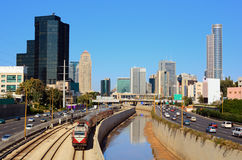 Tel Aviv Skyline Royalty Free Stock Photos