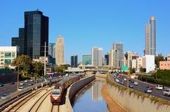 Free Tel Aviv Skyline Royalty Free Stock Photos - 23728448