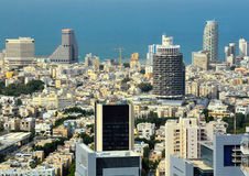 Tel Aviv Skyline Stock Images