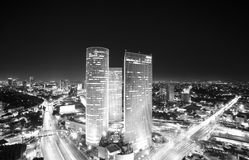 Tel Aviv Skyline At Stock Images