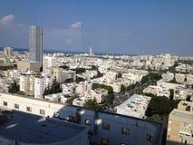 Tel-Aviv skyline. City view of tel-aviv Royalty Free Stock Photography