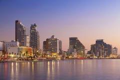 Tel Aviv Skyline. Stock Photo