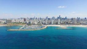 Tel Aviv skyline Stock Photos