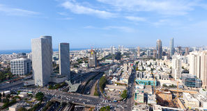 Tel Aviv skyline Royalty Free Stock Photography