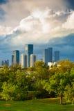 Tel Aviv Skyline at Sunset Royalty Free Stock Image