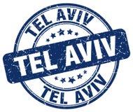 Tel Aviv-Stempel lizenzfreie abbildung