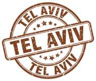 Tel Aviv-Stempel stock abbildung