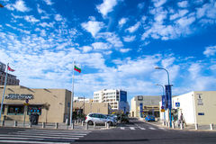 Tel Aviv street Stock Photo