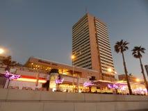 Tel Aviv at sunset Stock Photos