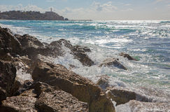Tel Aviv - the surge and old Jaffa Stock Photography