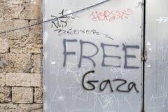 Tel Aviv ulicy sztuka obraz stock