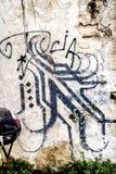 Tel Aviv ulicy sztuka fotografia royalty free