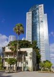 Tel Aviv vecchia & nuova Immagine Stock Libera da Diritti