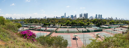 Tel Aviv view from Eretz Israel Museum Royalty Free Stock Images