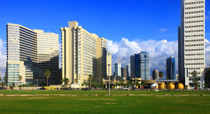 Tel Aviv. View of the Tel Aviv, Israel stock image