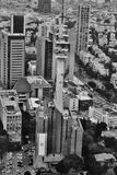 Tel Aviv - 10 06 2017: Vista aerea sulle strade e sul propert di Tel Aviv Fotografie Stock