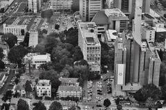 Tel Aviv - 10 06 2017: Vista aerea sulle strade e sul propert di Tel Aviv Fotografia Stock Libera da Diritti