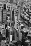Tel Aviv - 10 06 2017 : Vue aérienne sur les routes et le propert de Tel Aviv Photos stock
