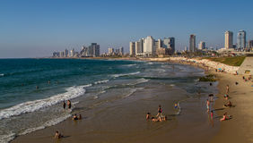 Tel Aviv, waterfront Stock Photos