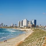 tel aviv widok Obraz Royalty Free