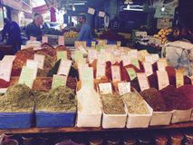 Tel-Awiw market Stock Image