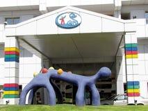Tel Hashomer fantastic monster 2012 Stock Photo