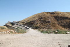 Tel Lachish 免版税库存图片