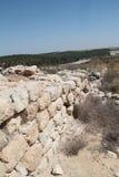 Tel Lachish Walls Ruins Royalty Free Stock Photo