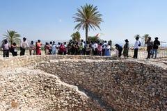 Tel Megiddo -以色列 库存照片