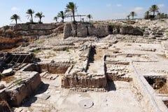 Tel Megiddo 图库摄影