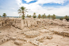 Tel Megiddo, Israel Stock Photo