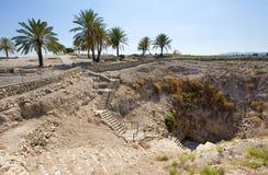 Tel Megiddo National park Royalty Free Stock Images