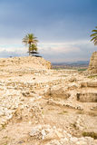 Tel Megiddo National Park, Jezreel Valley, Israel Royalty Free Stock Images