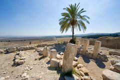 Tel Megiddo National park Stock Image