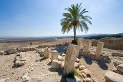 Tel Megiddo National park Stock Image