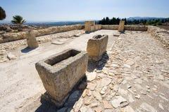 Tel Megiddo National park Stock Images