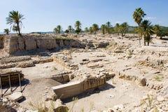 Tel Megiddo National park Royalty Free Stock Photo