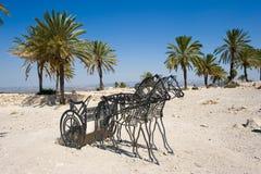 Tel Megiddo National park Royalty Free Stock Photos