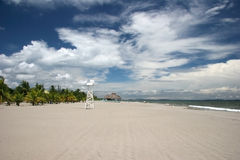 tela пляжа Стоковое Фото