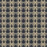 Tela abstrata do teste padrão do vintage Fotos de Stock Royalty Free