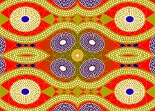 Tela africana da c?pia, ornamento feito a m?o ?tnico para seus elementos geom?tricos do projeto, os ?tnicos e os tribais dos moti ilustração royalty free